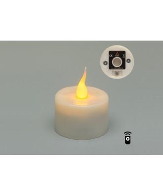 T-Light Ersatz-Tischlicht (gelb)
