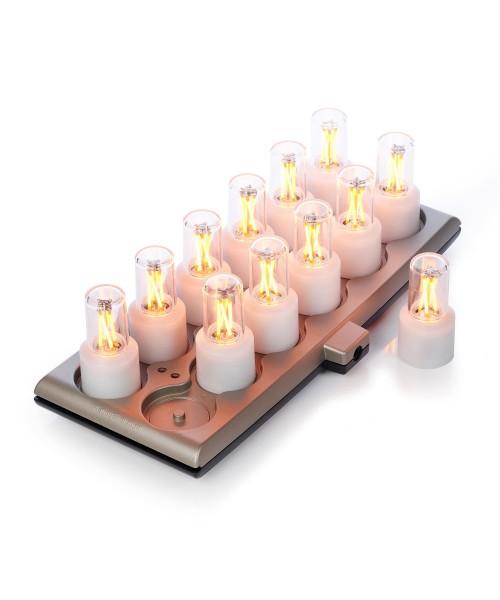 Mini Smart Lamp 12er-Set (inkl. Netzteil und Ladestation)