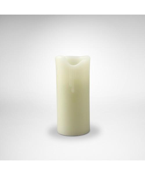 Wax Ersatz-Kerze 18 cm