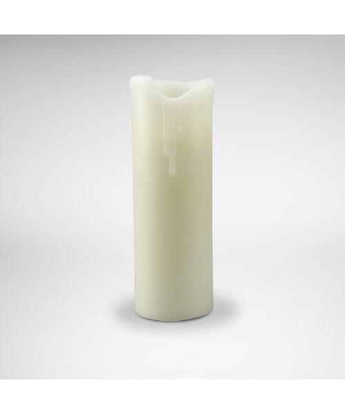 Wax Ersatz-Kerze 23 cm