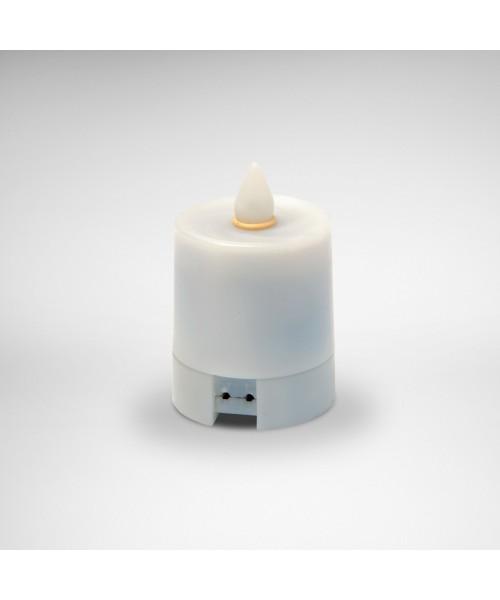 LED-Licht (gelb) inkl. Adapter